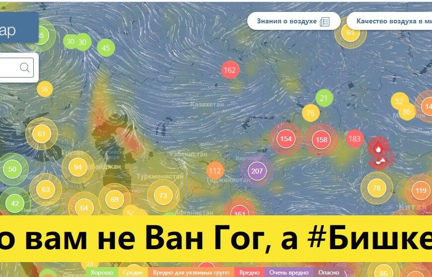 Бермет Борубаева: #БишкекСмог